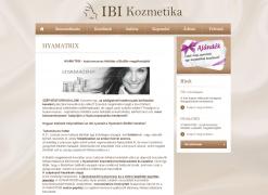 IBI kozmetika Kecskemét