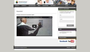 eInstruction weboldala